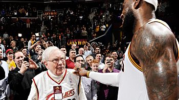 lebron james warren buffett